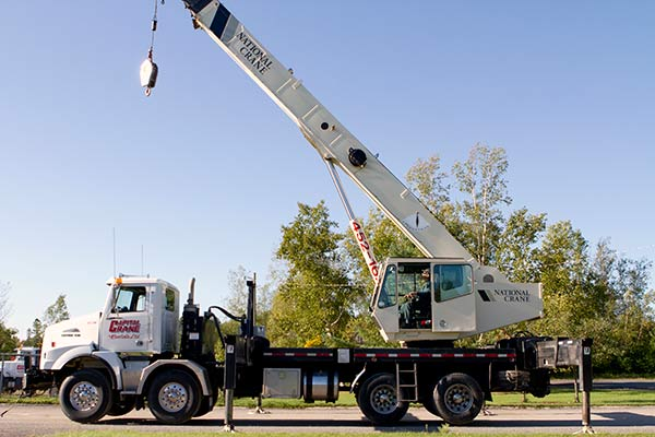 Crane and Boom Truck Rentals in Fredericton